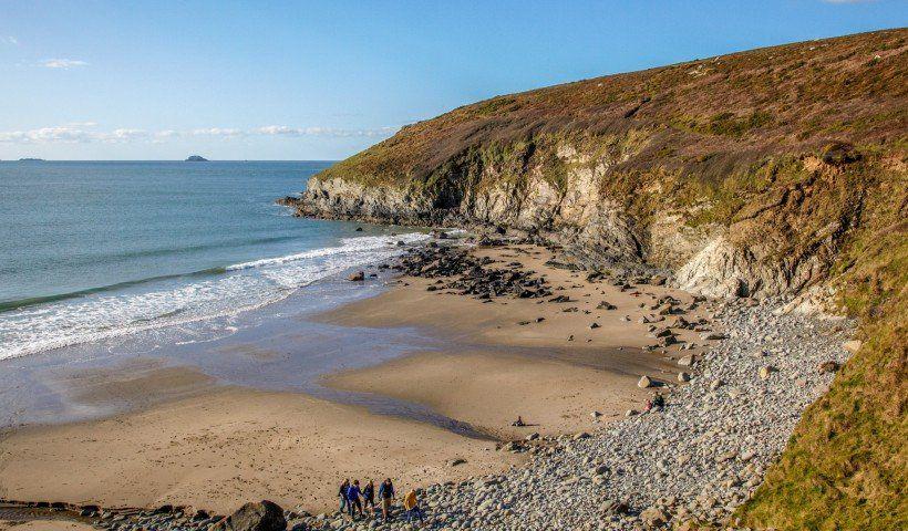 شاطئ Porthmelgan