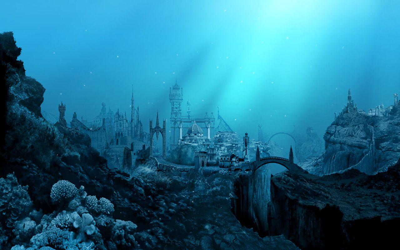 Atlantis was an island legend
