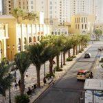 شارع JBR  في دبي ( الممشى )