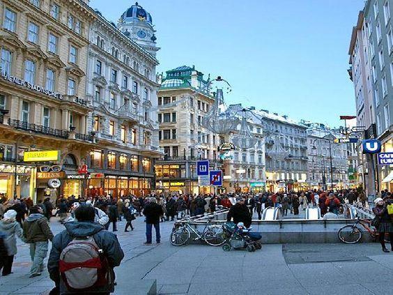 اخبار الامارات العاجلة Mariahilfer-Strasse1 شارع ماريا هلفر السياحي في مدينة فيينا أخبار السياحة  مواضيع متنوعة منوعات السياحة
