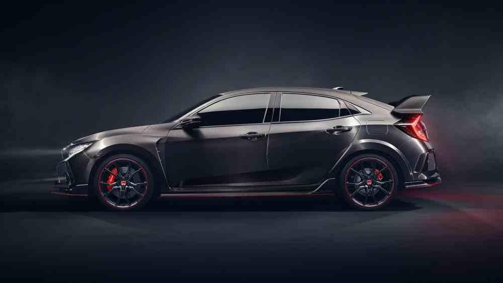 هوندا سيفيك Type 2017 النسخة Side-2017-Honda-Civi