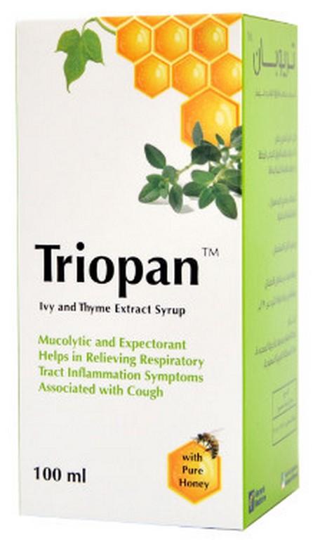 شراب تريوبان Triopan لعلاج التهابات الجهاز التنفسي والسعال المرسال
