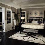 فخامة الالوان الداكنة في اثاث غرف النوم