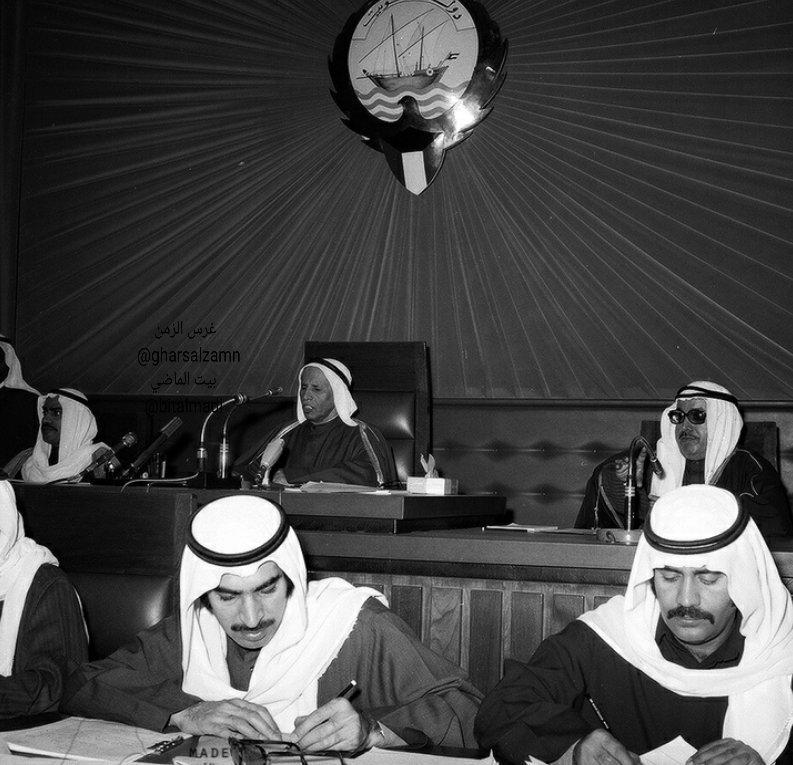 مسيرة خالد صالح الغنيمي رئيس مجلس الأمة الكويتي السابق