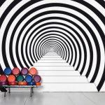 رسومات الحائط و تاثيرها علي التصميم