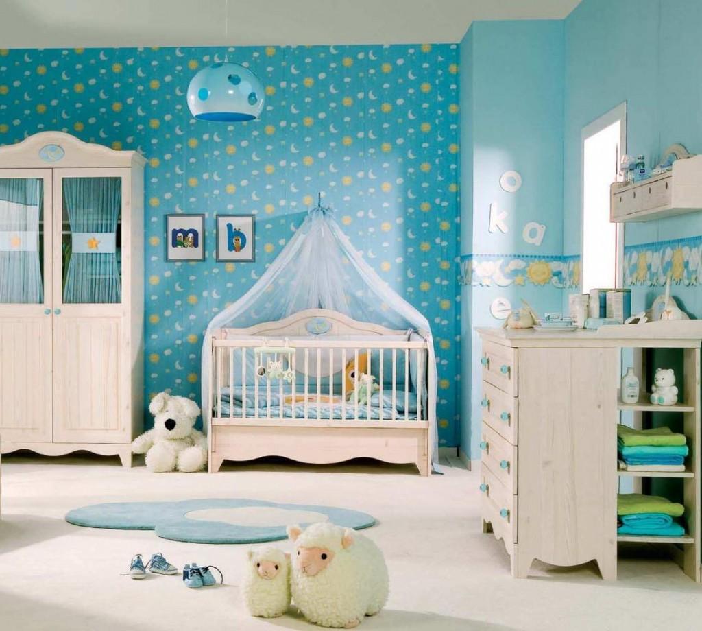 غرفة اطفال رضع باللون اللبني | المرسال