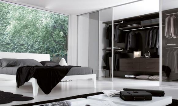 غرفة الملابس بغرفة نوم رئيسية