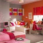 غرف نوم بنات بمساحة متوسطة