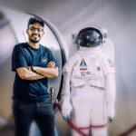 """أول سعودي في وكالة ناسا """" مشعل الشهراني """""""