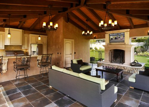 for Country outdoor kitchen ideas
