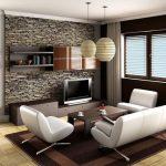 تصميمات المعيشة للمنازل الصغيرة