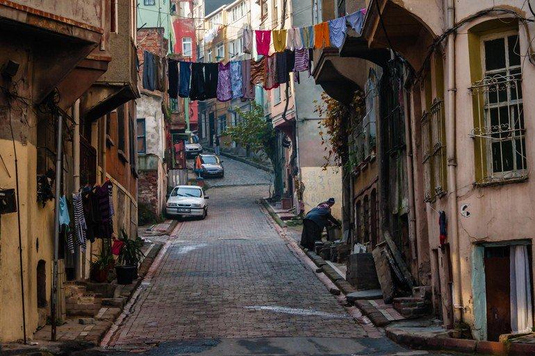 منازل حي بالات القديمة -اسطنبول