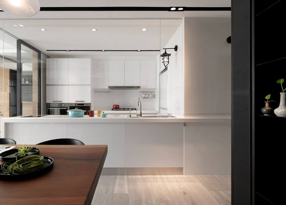 منزل مطبخ