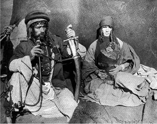 نمر بن عدوان وزوجنه