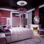 اللون البنفسجي في غرف نوم البنات