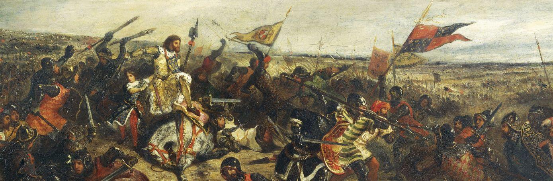 """حرب المائة عام """" اطول حرب في التاريخ """" HUNDRED-YEARS%E2%80%99-WAR"""