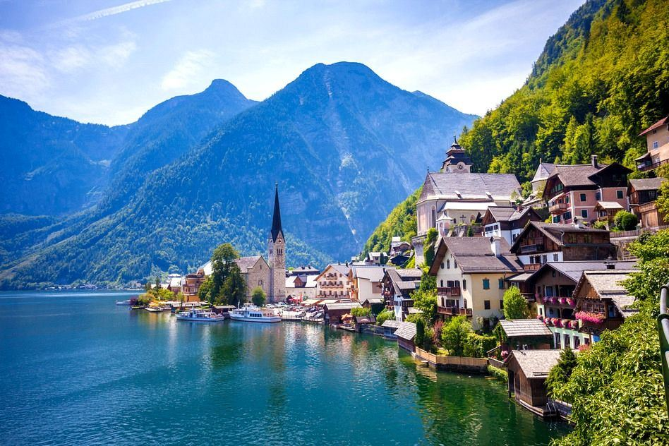 بلدة هالشتات في النمسا