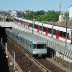 قطار مترو مدينة فيينا بالصور
