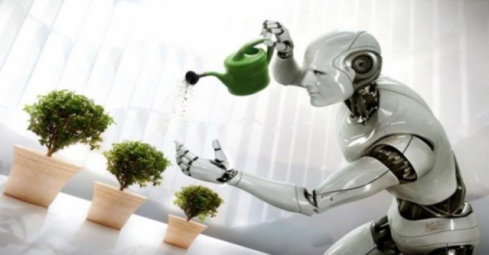 الروبوت المنزلي