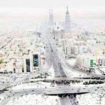 توقعات أوروبية بتساقط الثلوج هذا الشتاء في الرياض