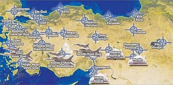 اهم المواقع العسكرية لحلف الناتو