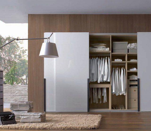 Bedroom Sliding Cupboard Designs Light Purple Bedroom Paint Ideas Modern Blue Bedroom Ideas Art Deco Style Bedroom Ideas: خزانات ملابس انيقة 2017