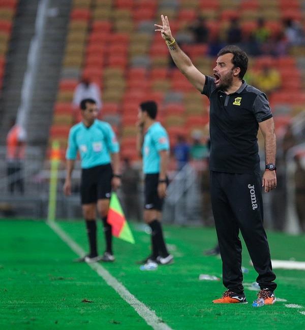 خوسيه سييرا مدرب نادي الأتحاد والذي يعتبر من أفضل المدربين في الفترة الأخيرة