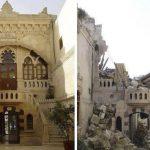 صور حلب قبل وبعد الحرب