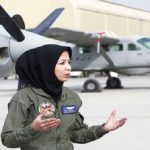 صفية فيروزي أفغانية تحقق حلمها و تصبح كابتن طيار