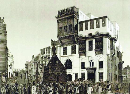قصر التاجر بمكة
