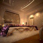 فخامة غرف النوم الرئيسية