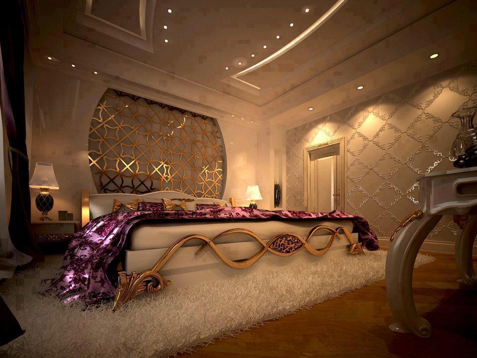 فخامة غرف النوم الرئيسية | المرسال