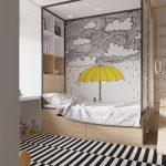 مجموعة رائعة من ورق الحائط لغرف الأطفال