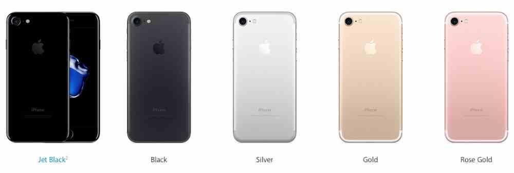 Apple iPhone 7, plus - Vergelijk Rode iPhone 7 - Red Edition