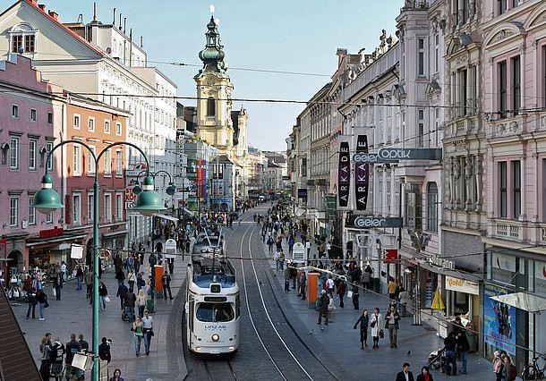 شارع لاند ستراسيه في النمسا
