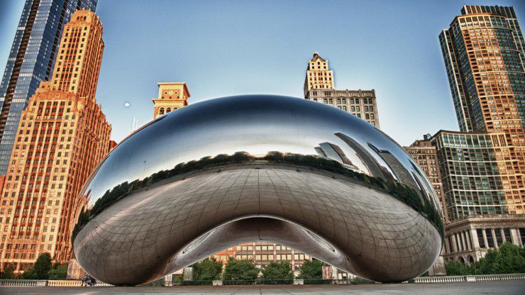See Cloud Gate
