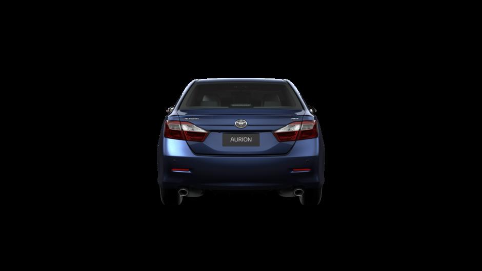التصميم الخلفي للسيارة تويوتا اوريون 2017