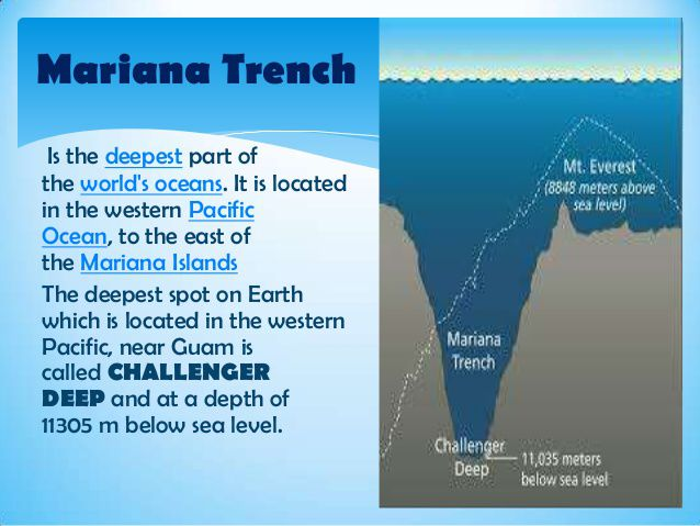 a overview of mariana trench the deepest known trench to mankind