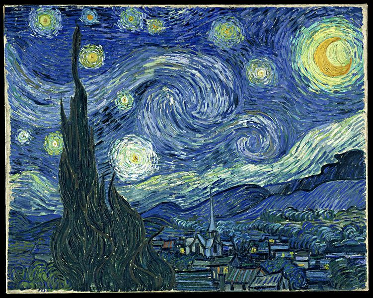 starry night of