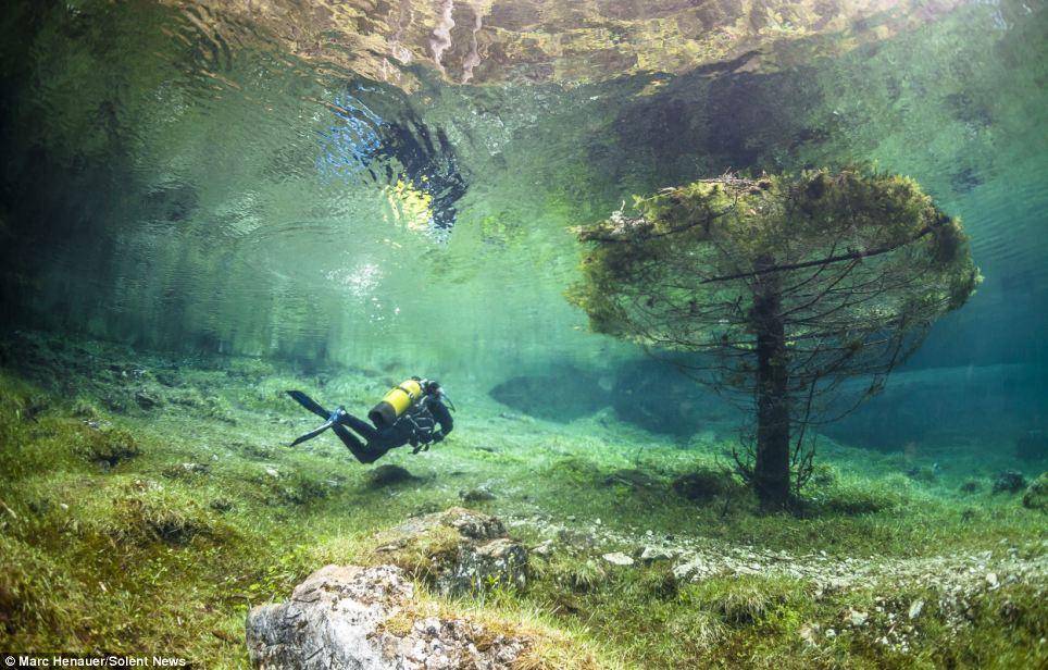 البحيرة الخضراء في النمسا