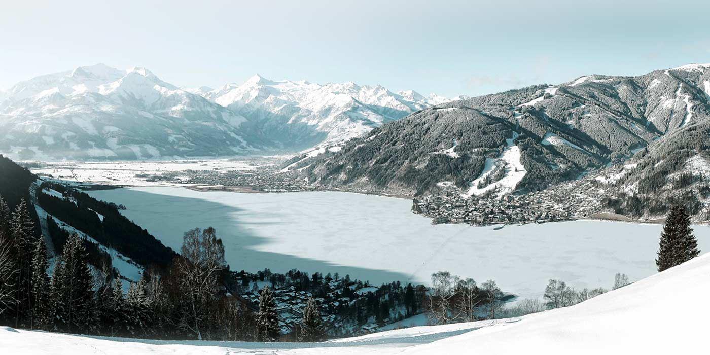 بحيرة زيل ام سي في الشتاء