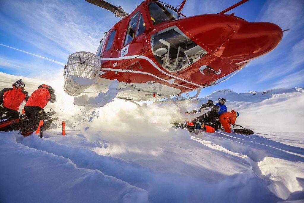 التزلج المروحي