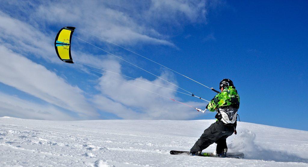 التزلج المظلي