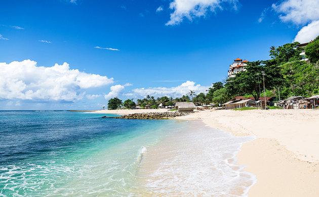 الشواطئ في بالي