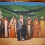 اللوحة المليونية ... بمعرض جدارية جدة و أيام زمان