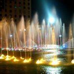 النافورة الموسيقية في الكويت