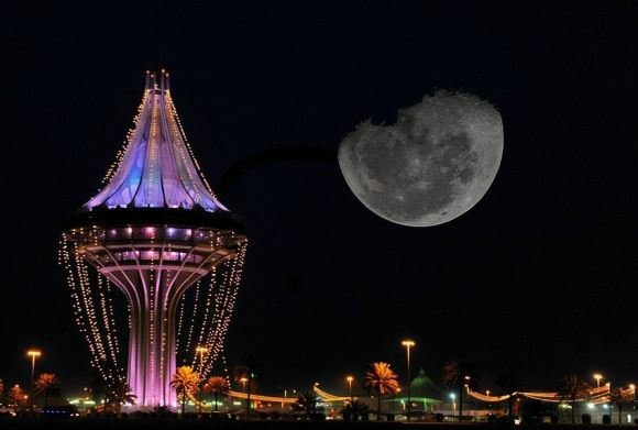 برج مياه الخرج في الرياض المرسال