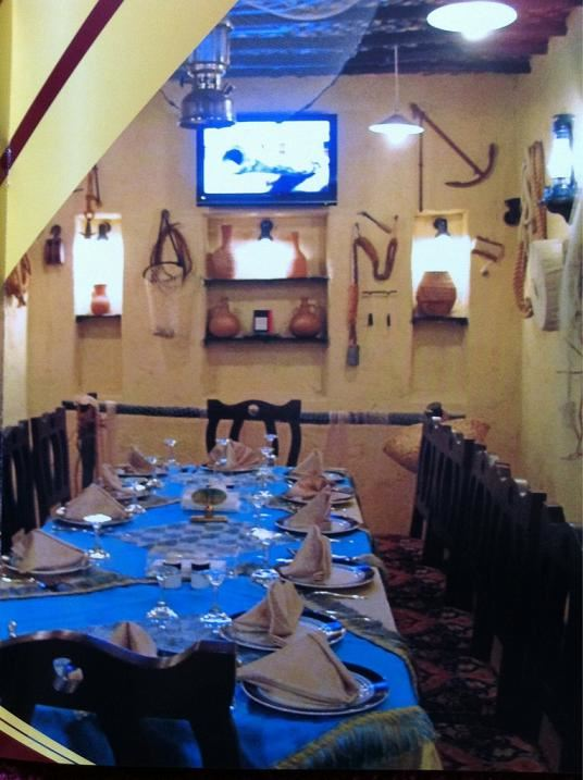 قاعة العائلات في مطعم بيت ديكسون