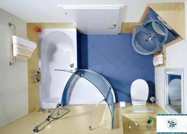 Blue bath  Modern in bathroom Modern in bathroom  D8 AD D9 85 D8 A7 D9 85  D8 A7 D8 B2 D8 B1 D9 82