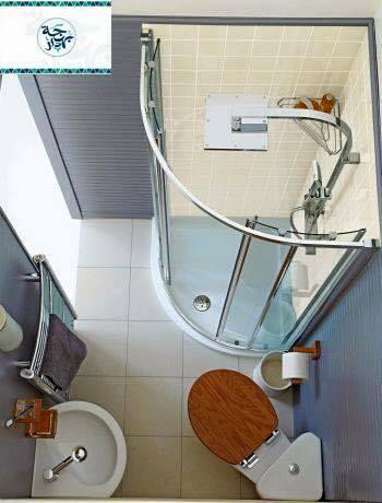 Small bathroom  Modern in bathroom Modern in bathroom  D8 AD D9 85 D8 A7 D9 85  D8 B5 D8 BA D9 8A D8 B1